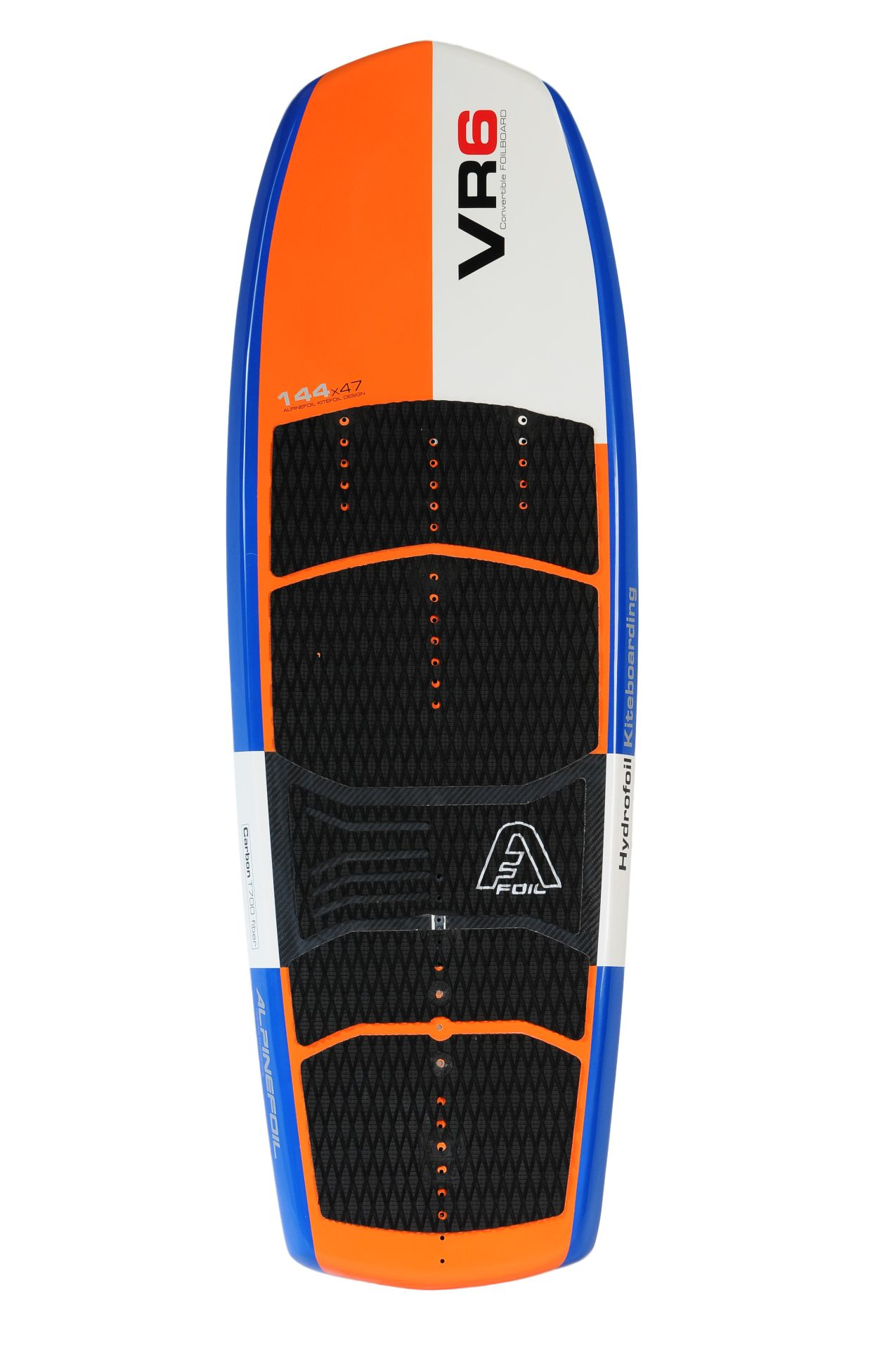 VR6  Freeride Race Foilboard convertible 144 x 48 - 30 Liters